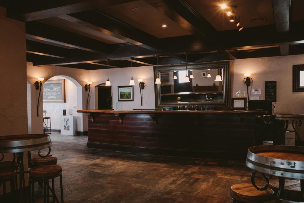 aurora cellars tasting room