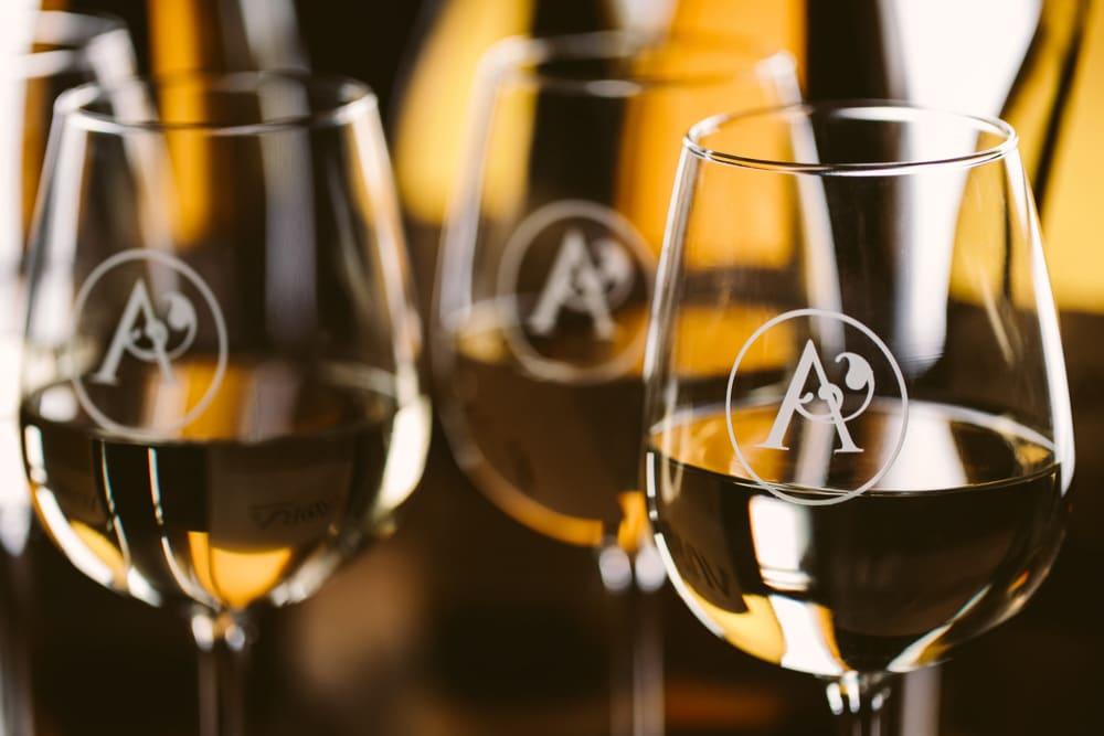 Aurora Cellars Wine Glasses